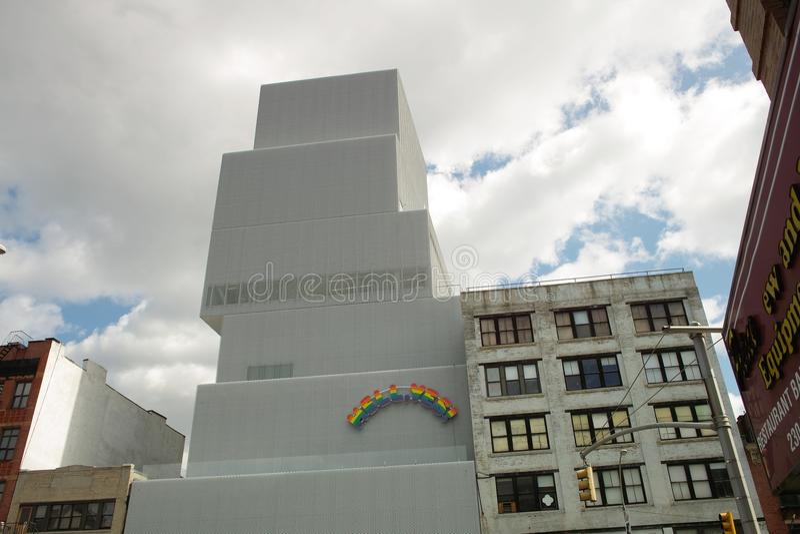 Nuova costruzione del museo fotografia stock libera da diritti