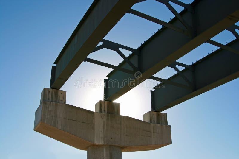Nuova costruzione della strada principale immagine stock libera da diritti