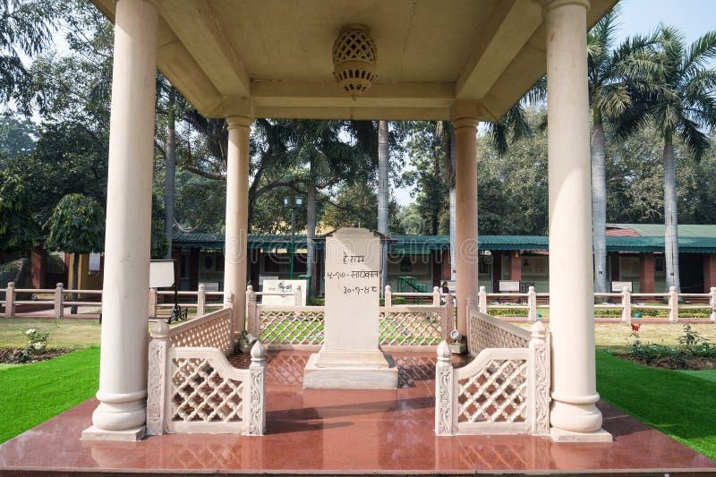 NUOVA DELHI, INDIA - 18 SETTEMBRE: Gandhi Smriti, precedente Camera di Birla immagini stock libere da diritti
