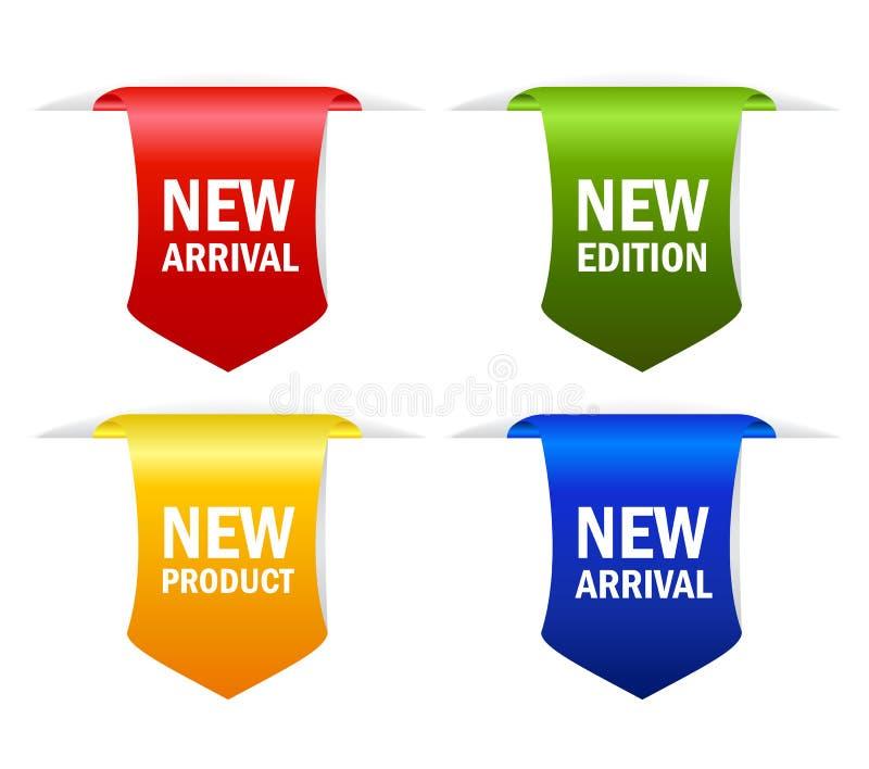 Nuova icona illustrazione di stock