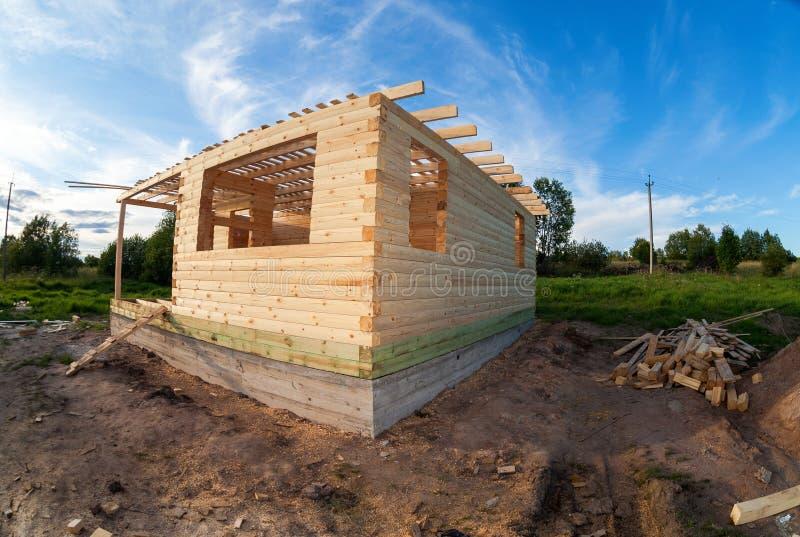 Nuova inquadratura della casa dell'edilizia residenziale fotografie stock