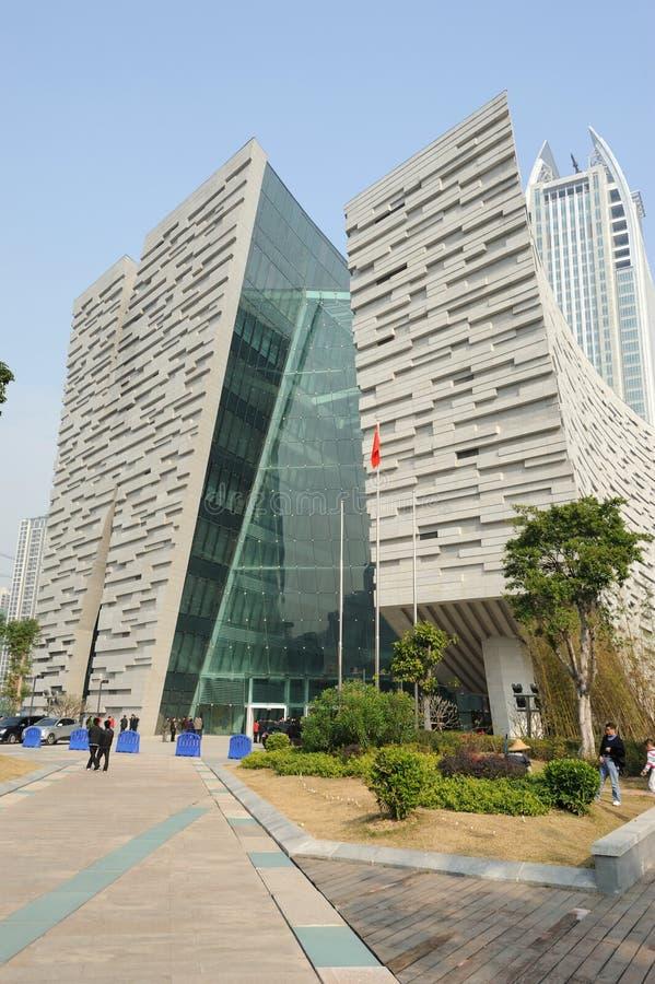 Nuova libreria di Guangzhou immagine stock libera da diritti