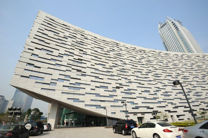 Nuova libreria di Guangzhou fotografie stock