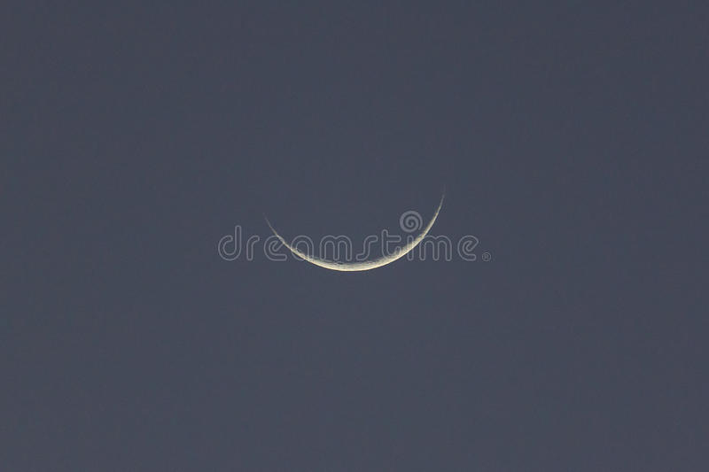 Nuova luna Madagascar fotografia stock