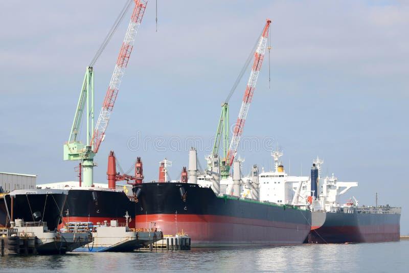 Nuova nave della costruzione fotografia stock libera da diritti