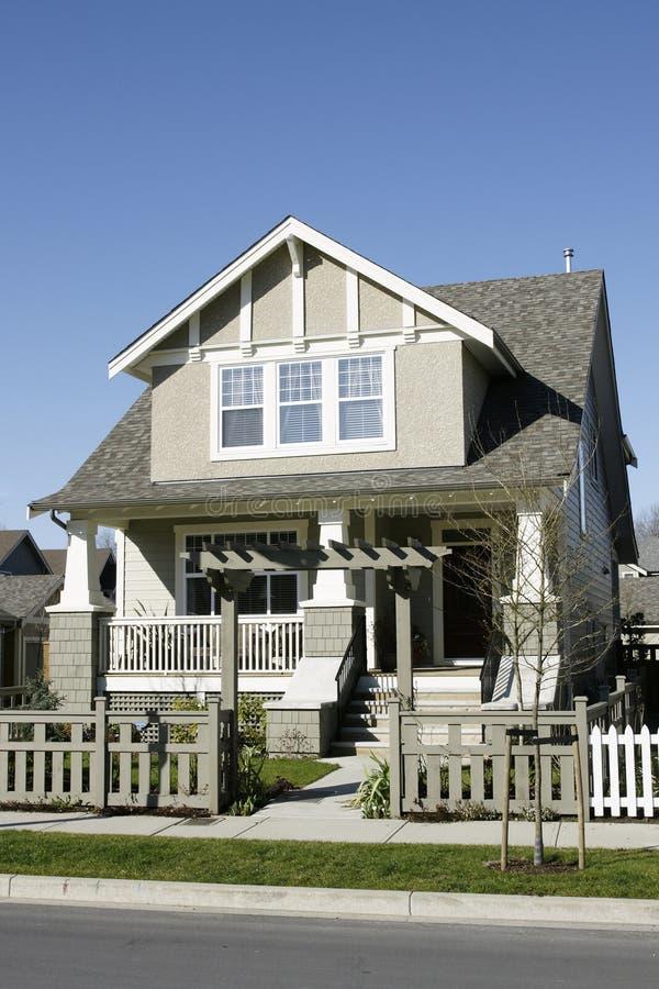 Nuova residenza domestica della Camera fotografia stock