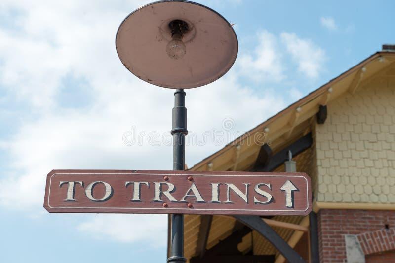 NUOVA SPERANZA, PA - 11 AGOSTO: La strada di nuova ferrovia di Ivyland e di speranza è una linea del treno di eredità per gli osp fotografia stock libera da diritti