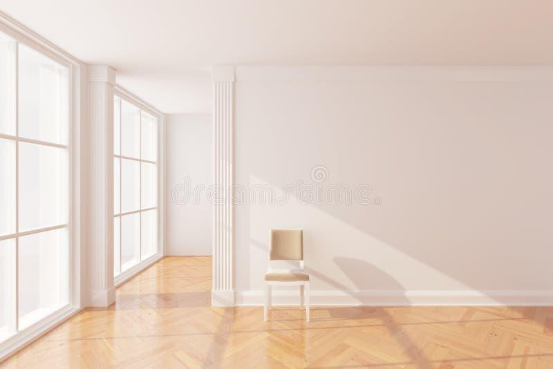 Nuova stanza vuota illustrazione vettoriale