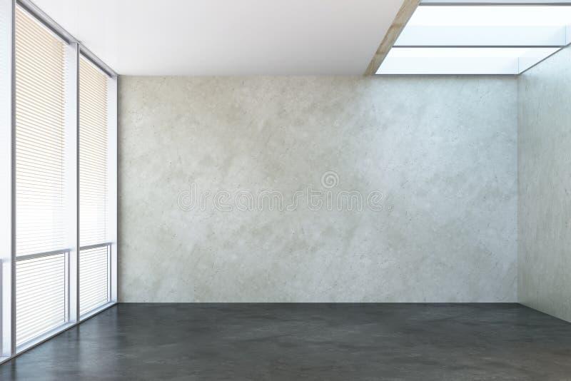 Nuova stanza vuota dell'ufficio immagine stock