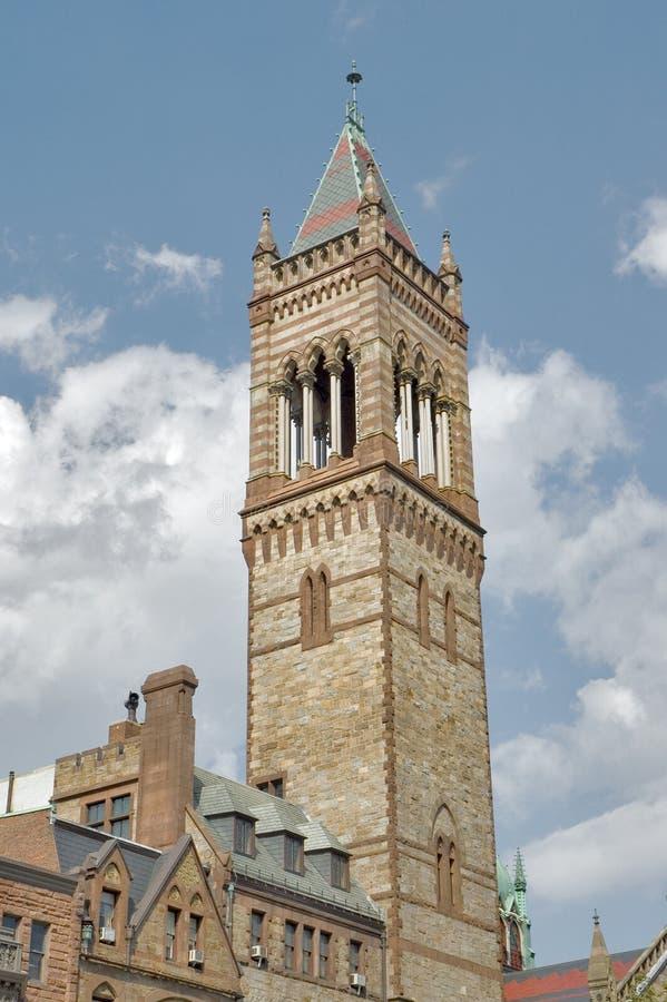 Nuova vecchia chiesa del sud di Boston fotografie stock libere da diritti