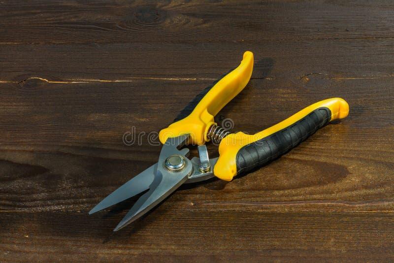 Nuove forbici del giardino immagine stock