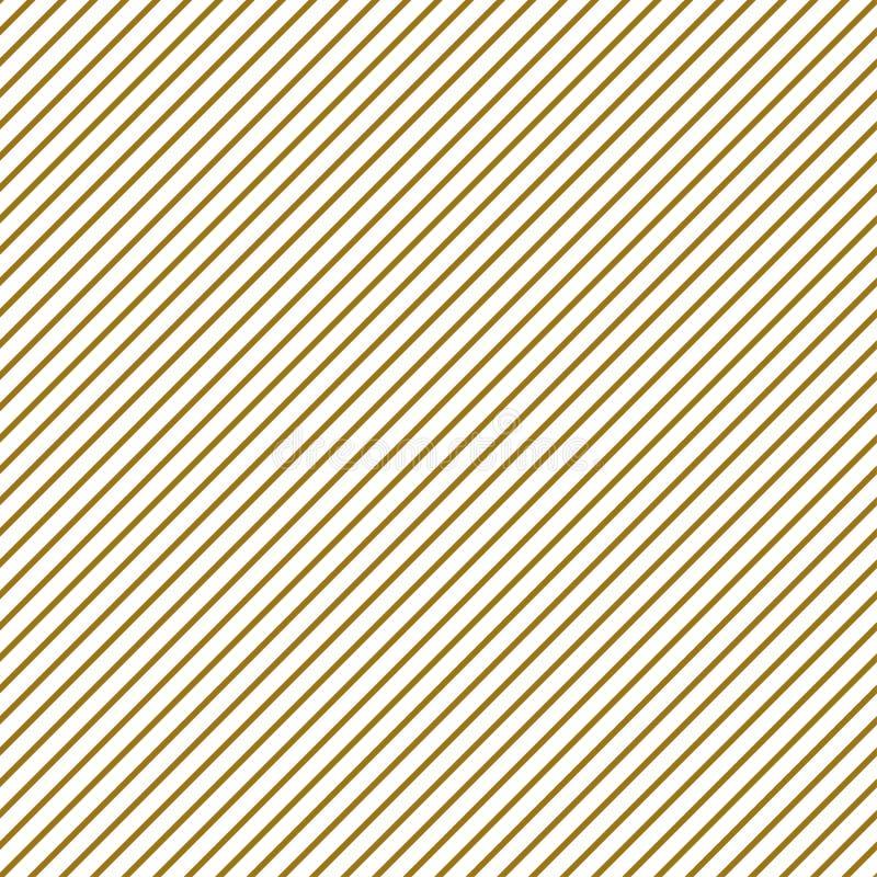 Nuove linee diagonali modello Nuovi colori moderni di tendenza dell'oro giallo per i precedenti Illustrazione geometrica minima d illustrazione di stock