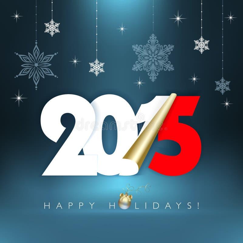 2015 nuovi anni royalty illustrazione gratis