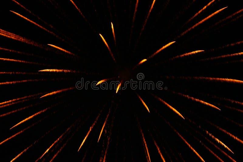 Nuovi anni di Eve Fireworks Display 2018 fotografie stock