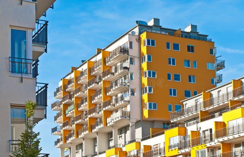 Nuovi appartamenti a Praga fotografia stock libera da diritti