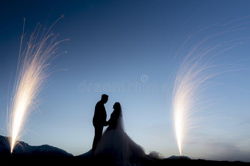 Nuovi matrimonio, amore ed unità immagini stock libere da diritti