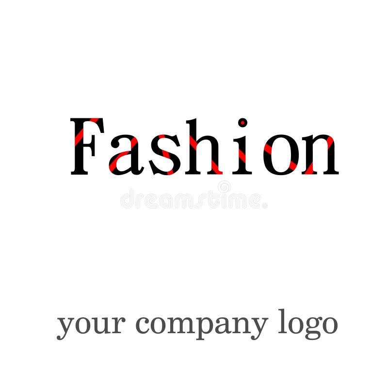 Nuovi usi di logo di modo per tutto l'indumento di modo facendo uso di royalty illustrazione gratis