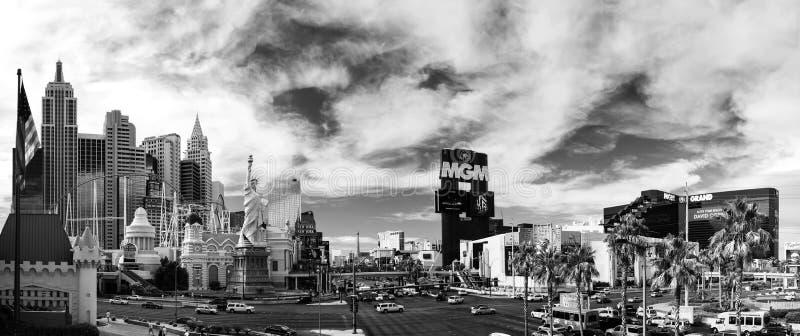 Nuovi York-nuovi York ed hotel di Mgm Grand a Las Vegas fotografia stock libera da diritti
