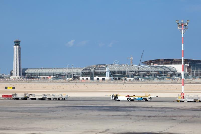 Nuovo aeroporto internazionale di Muscat immagine stock libera da diritti
