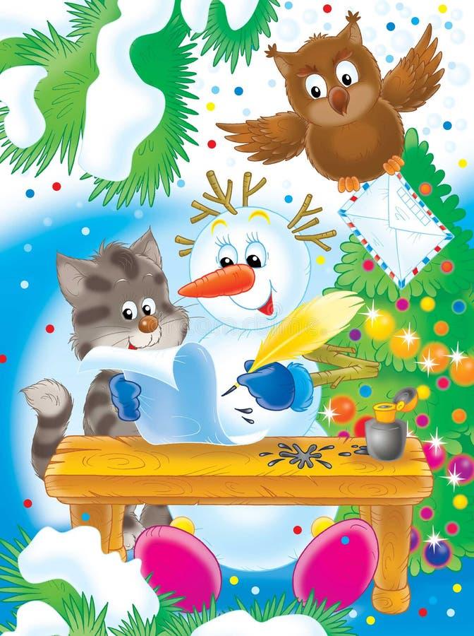 Nuovo anno 09 royalty illustrazione gratis