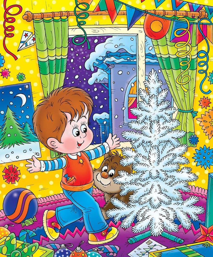 Nuovo anno 12 royalty illustrazione gratis