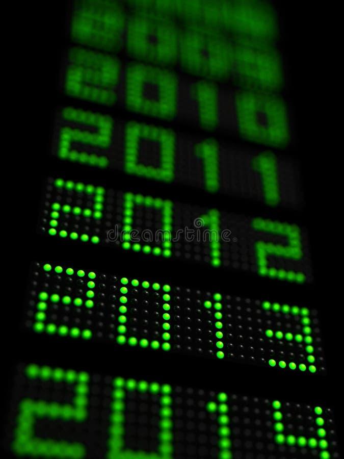 Nuovo anno 2013 fotografia stock