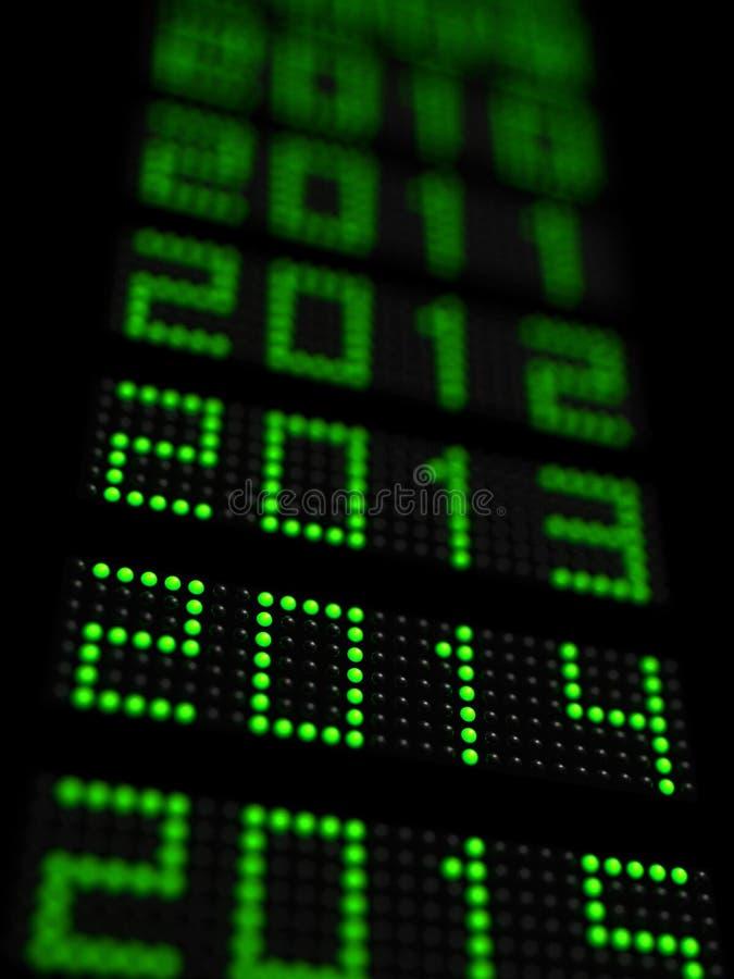 Nuovo anno 2014 immagine stock libera da diritti