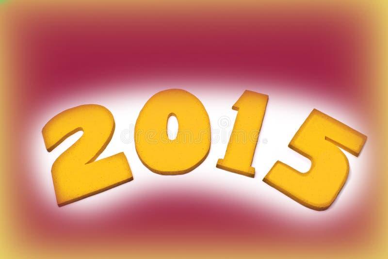 Nuovo anno 2015, immagini stock libere da diritti