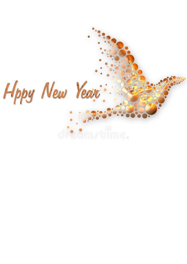 Nuovo anno del partito fotografie stock libere da diritti