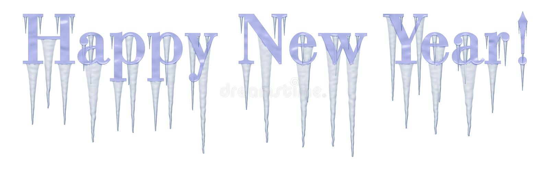 Nuovo anno felice!   royalty illustrazione gratis