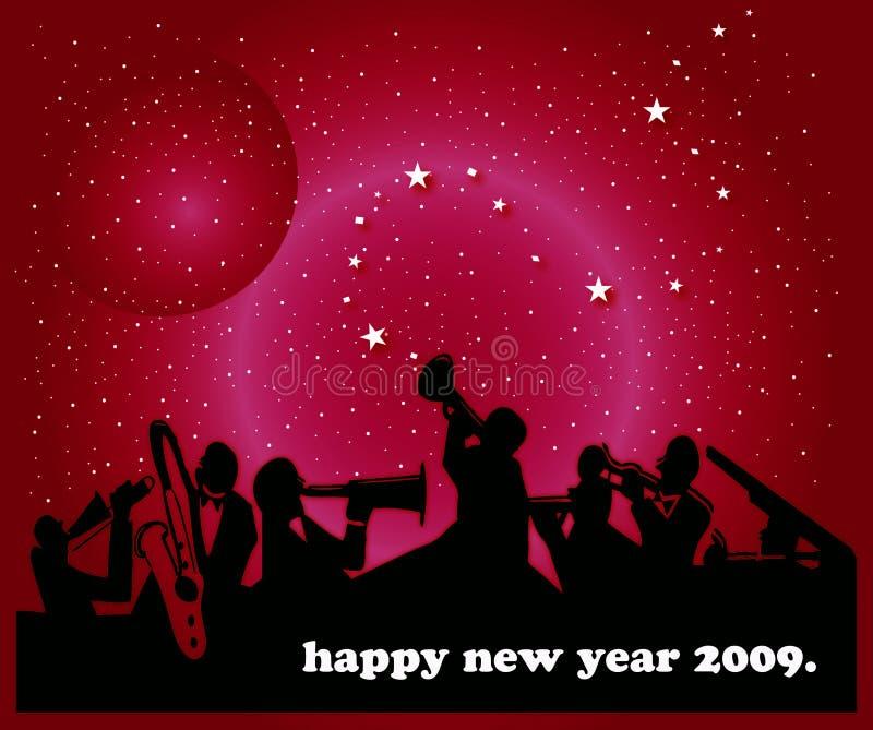 Download Nuovo anno felice illustrazione di stock. Illustrazione di partito - 7324075