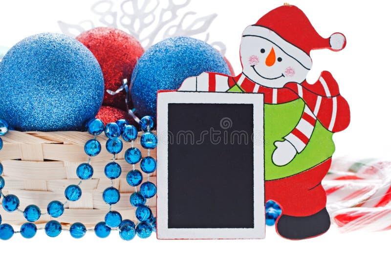 Nuovo anno felice e Buon Natale fotografie stock