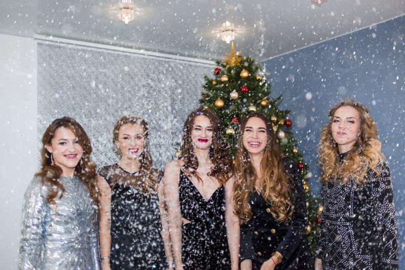 Nuovo anno, festa, celebrazione, concetto del partito immagini stock