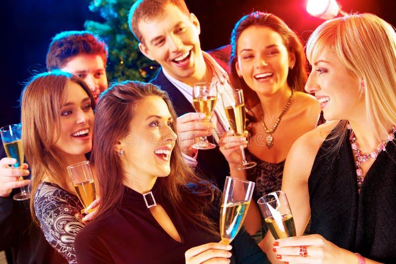 Nuovo anno - partito fotografia stock libera da diritti