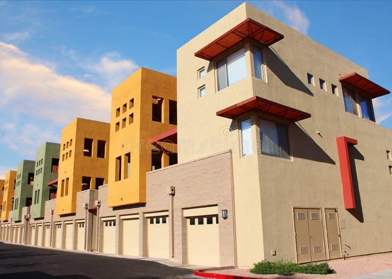 Nuovo appartamento moderno immagine stock