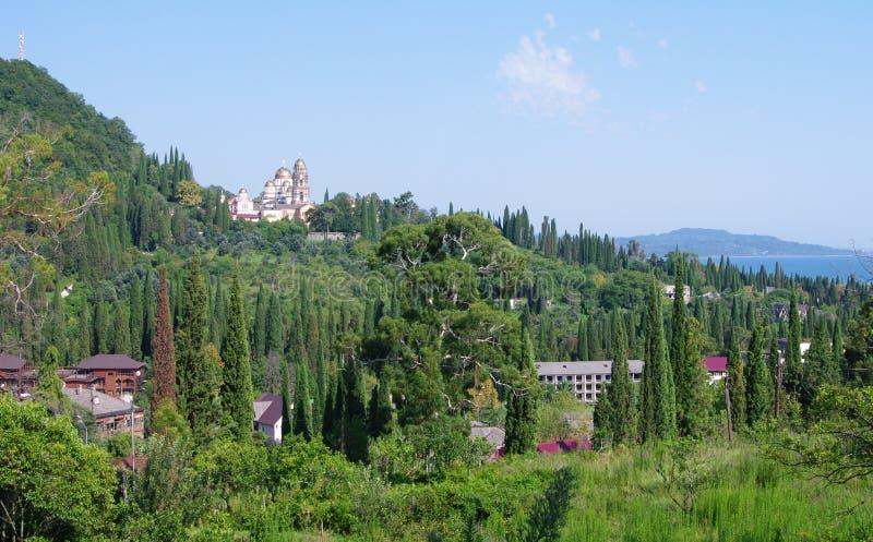 Nuovo Athos L'Abkhazia fotografia stock