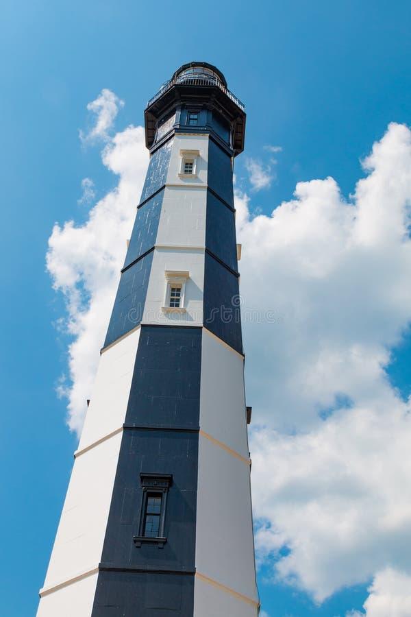 Nuovo capo Henry Lighthouse in Virginia Beach, la Virginia fotografia stock libera da diritti