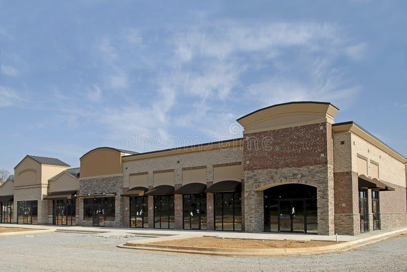 Nuovo centro commerciale immagine stock
