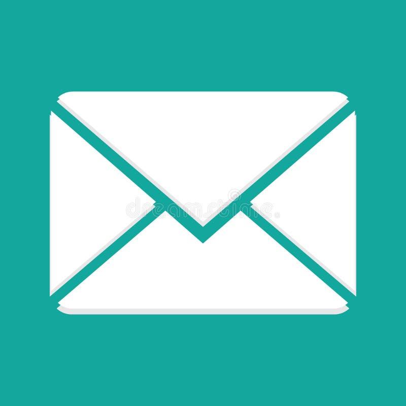 Nuovo email fotografia stock