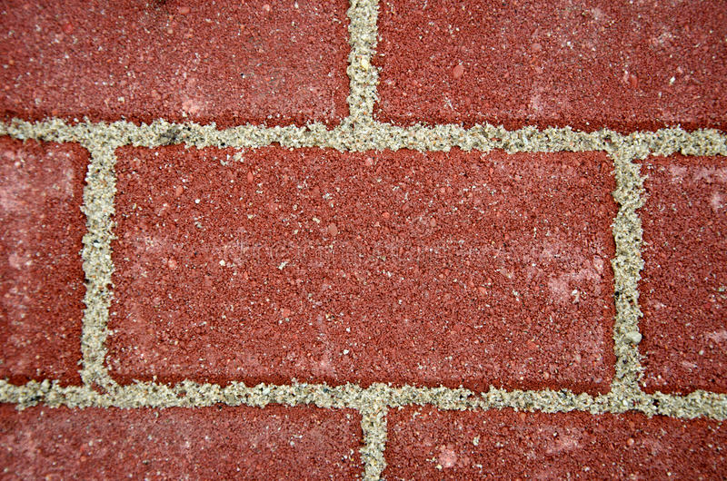 Nuovo fondo dei mattoni del marciapiede immagini stock