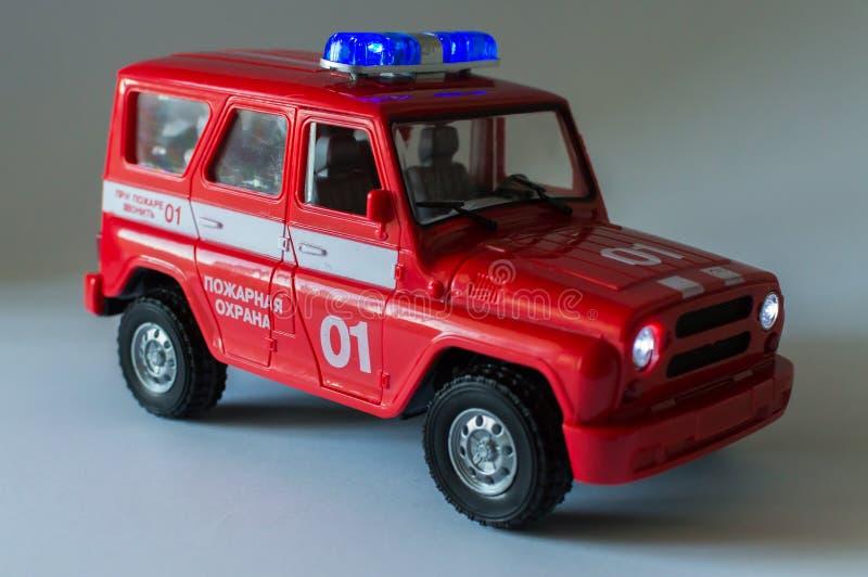 Nuovo Glasgow Fire Department immagine stock libera da diritti