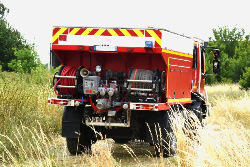 Nuovo Glasgow Fire Department fotografie stock libere da diritti