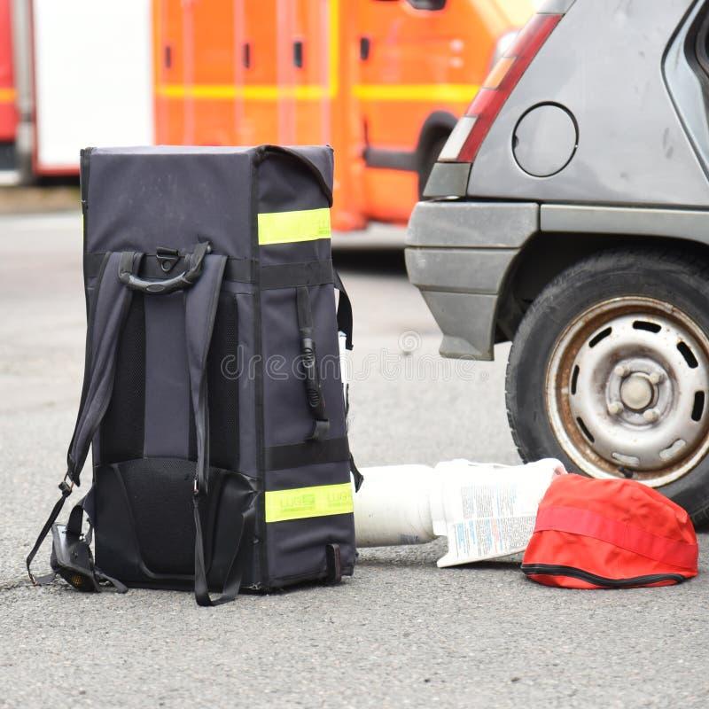 Nuovo Glasgow Fire Department fotografia stock libera da diritti