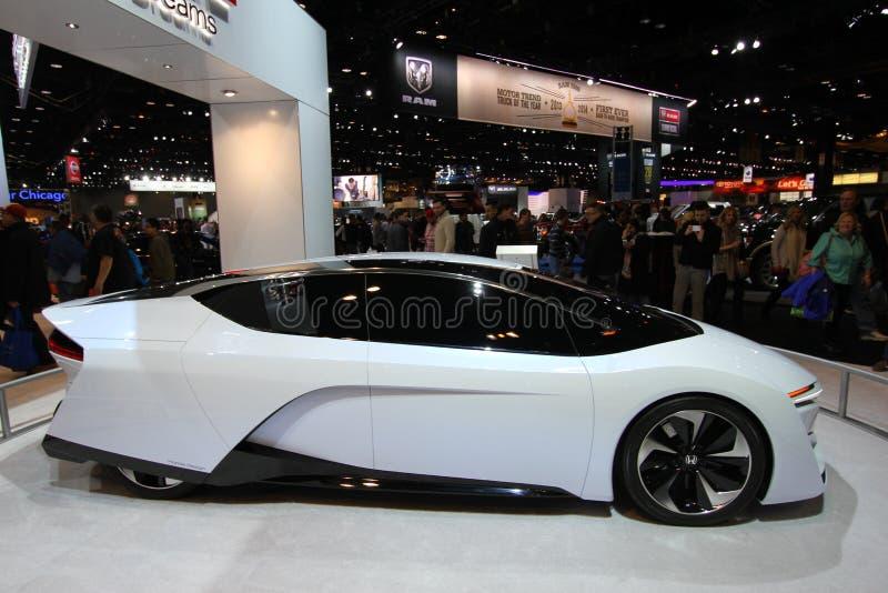 Nuovo Honda FCEV 2014 fotografia stock libera da diritti