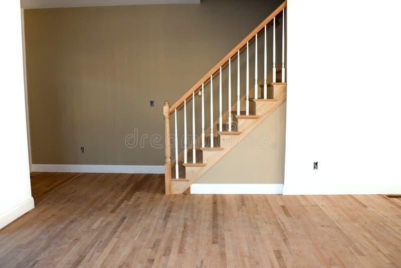 Nuovo interiore domestico non finito fotografia stock