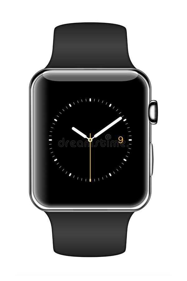 Nuovo iWatch di Apple illustrazione vettoriale