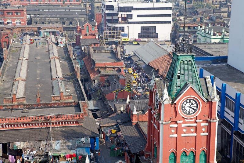 Nuovo mercato, Calcutta, India immagine stock libera da diritti