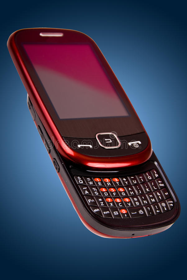 Nuovo modello del telefono cellulare immagine stock libera da diritti