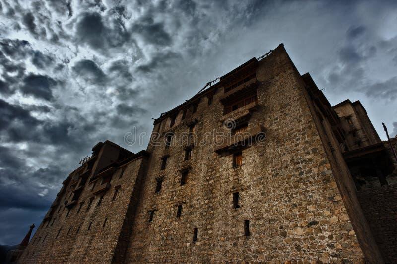 Nuovo monastero di Leh fotografia stock