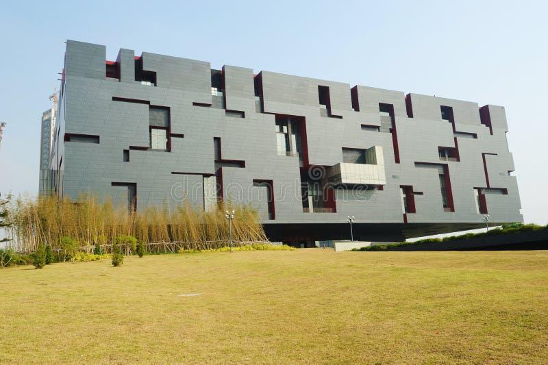 Nuovo museo del Guangdong immagini stock libere da diritti